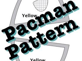 Pacman Plush Pattern
